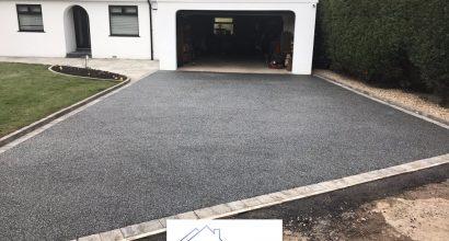 Resin bonded driveways in Sudbury, Suffolk.