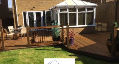 garden decking in Colchester Essex.