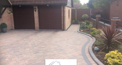 Block paving driveway in Colchester.