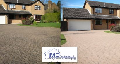 driveway pressure washing colchester