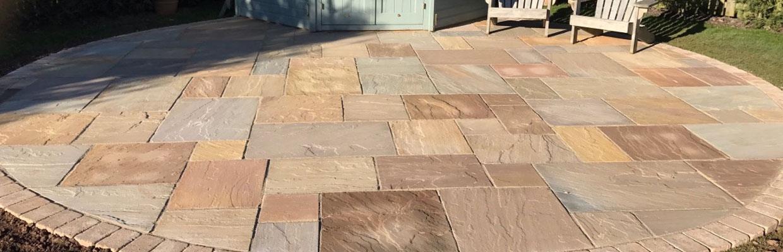 sandstone patios in colchester