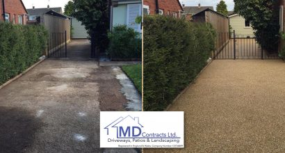 resin bonded driveways in Colchester Essex.