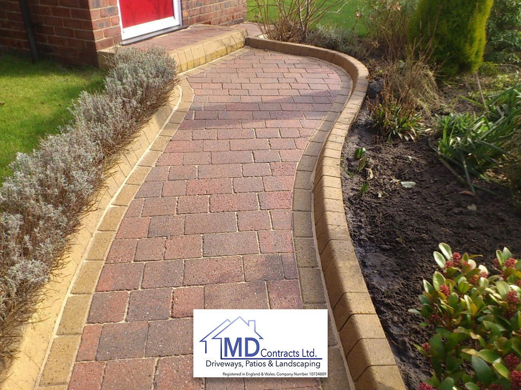 block paving in colchester and sudbury