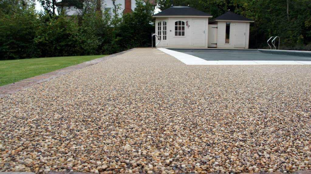 Resin gravel driveway colchester sudbury.