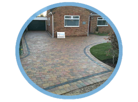 Block paving driveways. Colchester and Sudbury.