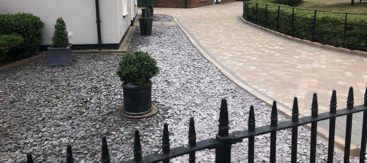 Patios driveways in Colchester and Sudbury