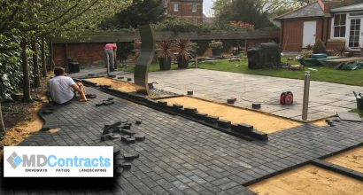 Patio in Maldon Essex