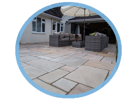 Patios and paving in Colchester and Sudbury.
