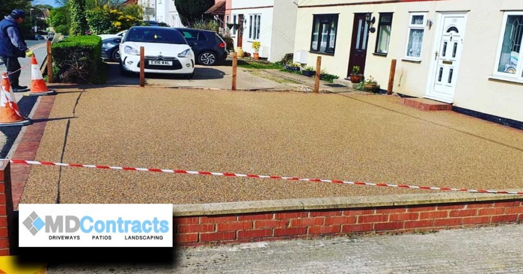 Resin Bound Gravel Driveway Colchester.