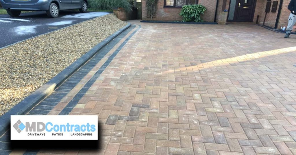 Block paving in Colchester
