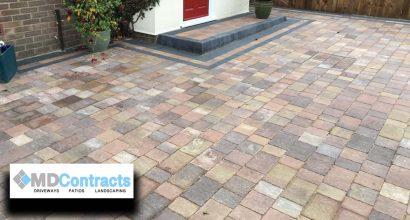 Block paving in Sudbury