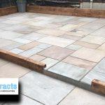 sandstone patio in colchester