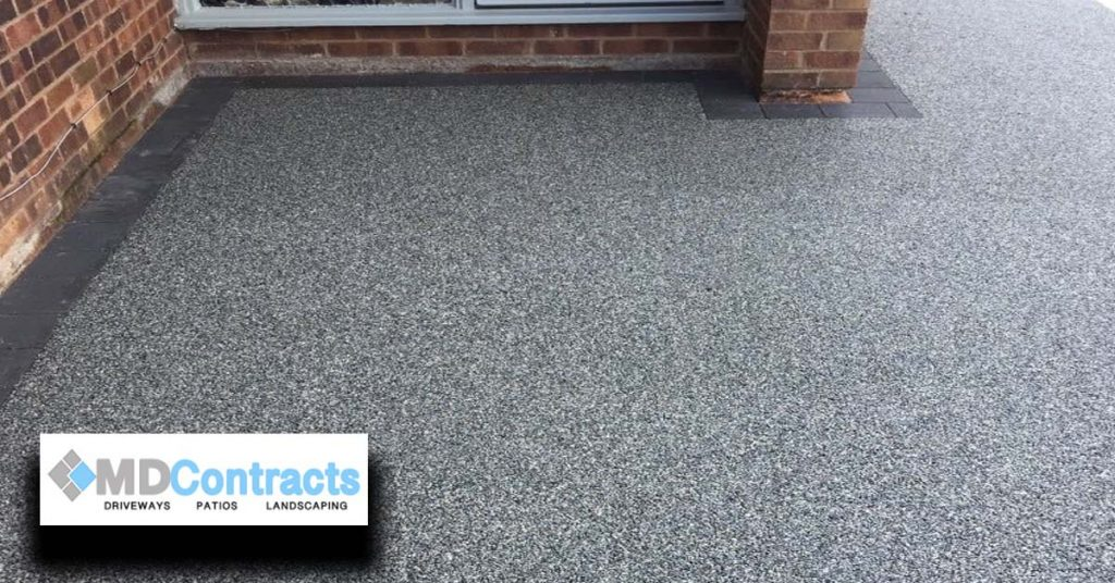 Resin bound gravel driveway in Colchester.