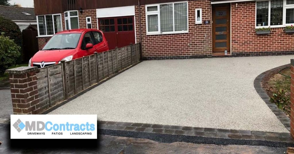 Resin Bound Gravel Driveway.