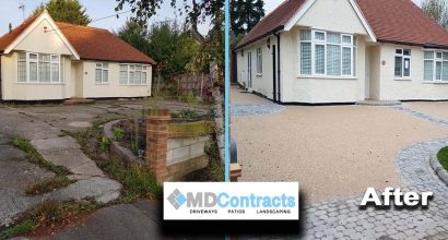 Resin Bound Gravel Driveway Sudbury Suffolk.