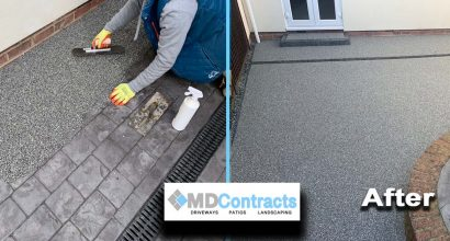 Resin Bound Patio Colchester.