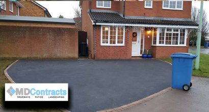 Tarmac driveway in Shotley Suffolk.
