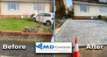 Driveway paving Colchester.