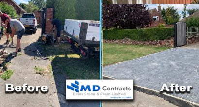 Block Paving Driveway Colchester