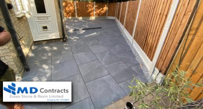 Porcelain Patio in Colchester.